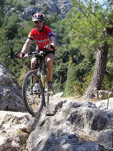Barranc mountain bike trail