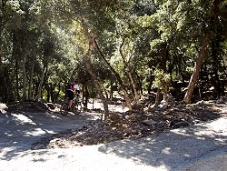 mountain biking from Soller to Pollensa