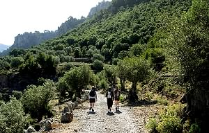 Walking in the peaceful valley of Balitx d'Avall
